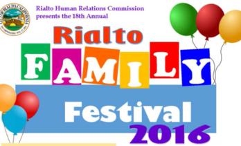 Rialto Family Festival 2016