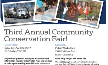 Third Annual Community Conservation Fair
